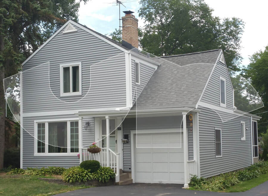 Lombard Grey Roof and Siding