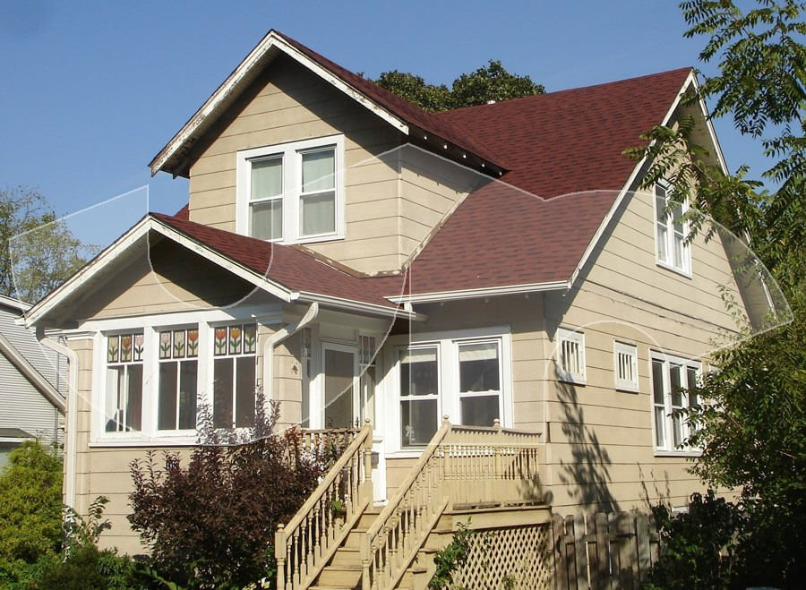 Lombard Riviera Red Roofing
