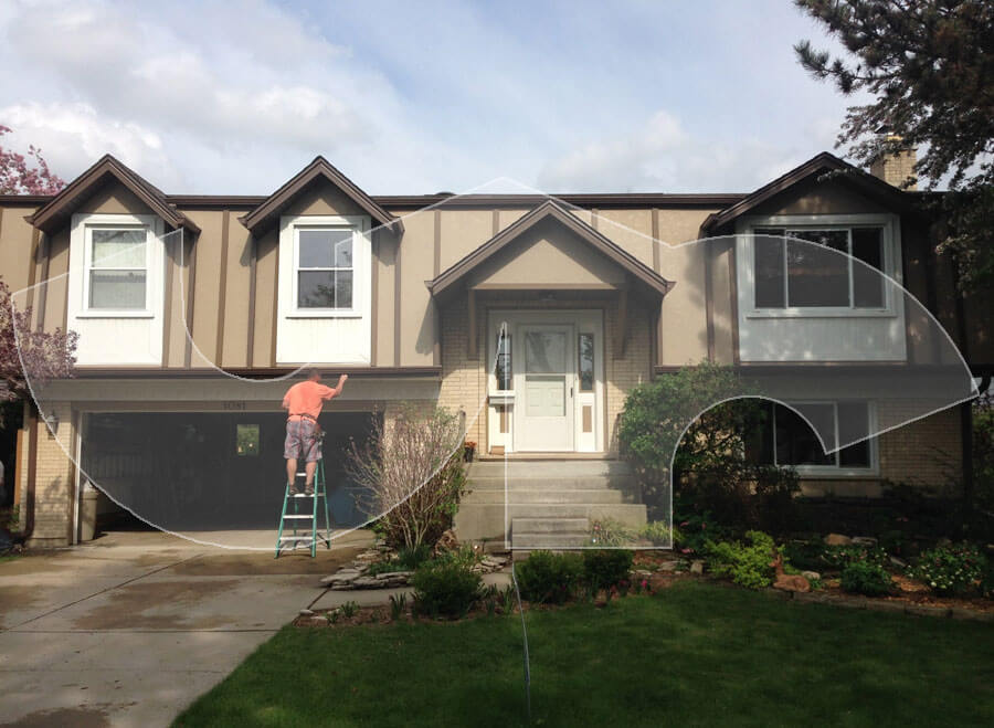 Palatine Hardie Stucco Siding and Trim
