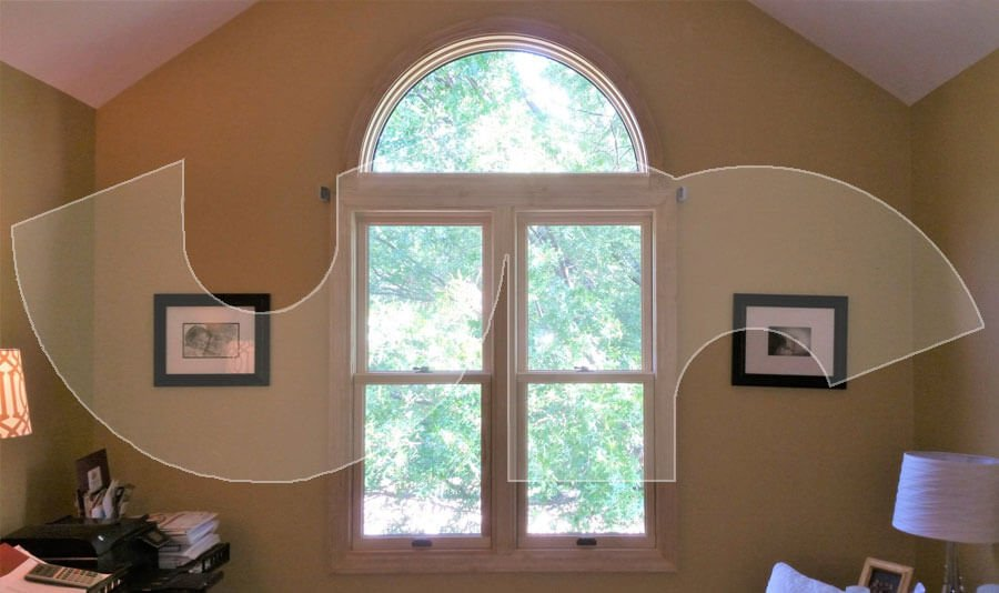 Sleepy Hollow Anderson A Series Double Hung Windows with Arch Head