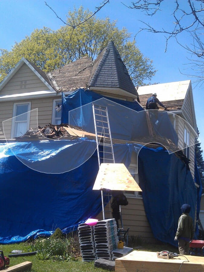 Waukegan Roofing During