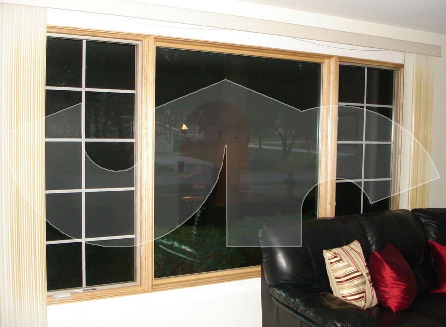Wheaton Pella 3lite Casement Window with Colonial Grids