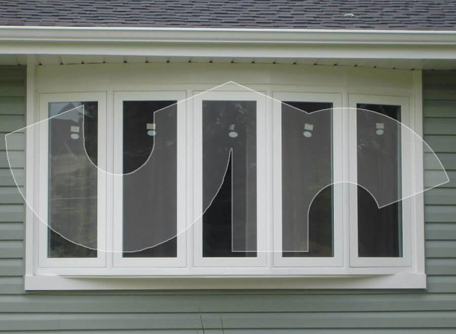 Glen Ellyn 5lite Bow Window