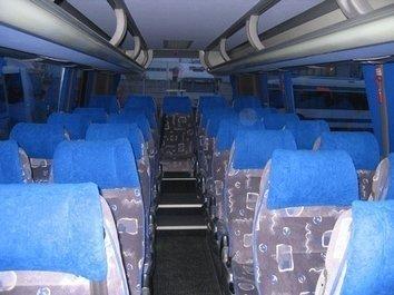 Interni di un bus da 30 POSTI