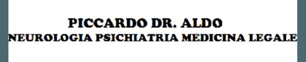 Psichiatria PICCARDO DR. ALDO