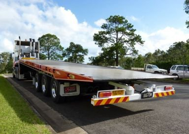 big tow transport tilt truck