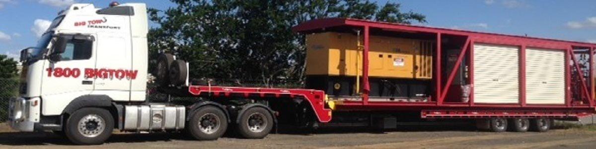 big tow transport big tow transport supertilt skid mounted generator