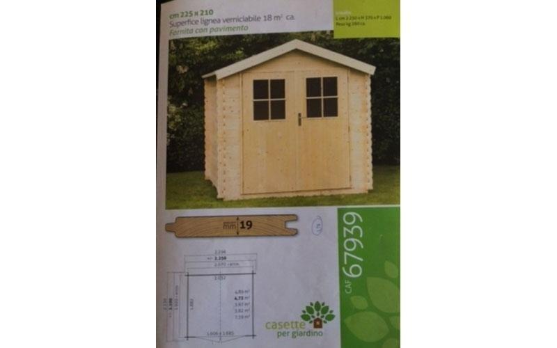 Casetta per giardino