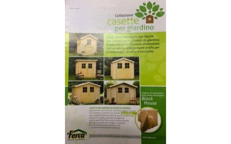 Casette in legno di conifere