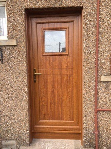 wooden composite door