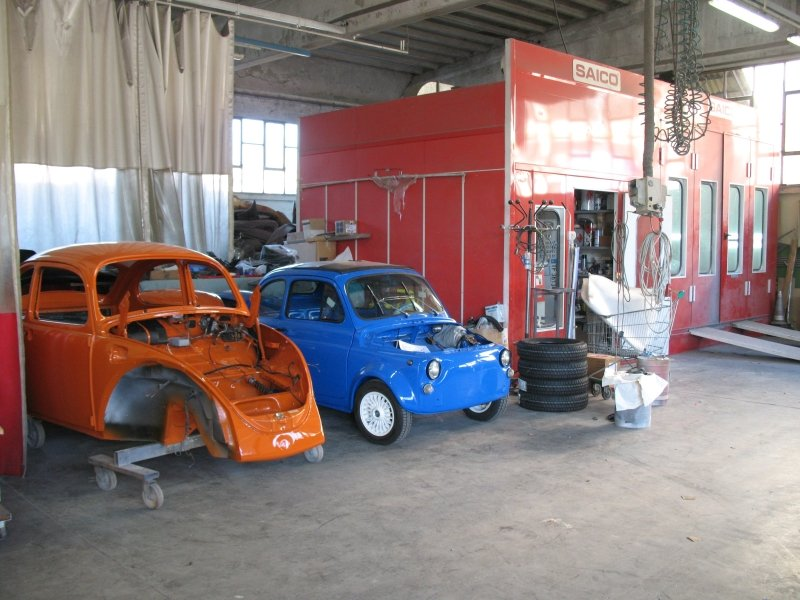 carrozzeria auto in officina