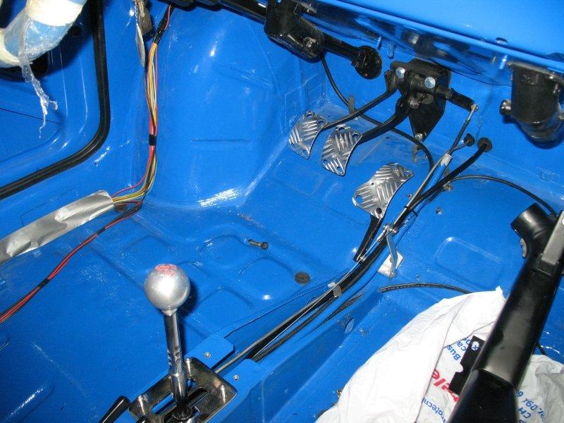 pedali carrozzeria maggiolino blu