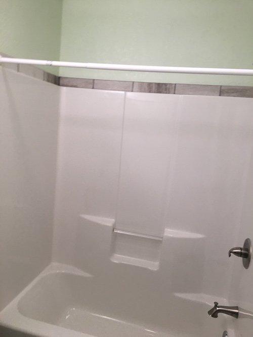 bathtub renovated