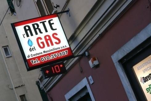 punto clienti arte del gas genova