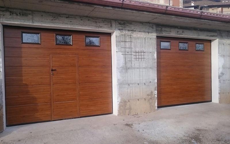 Realizzazione porte e portoni uso residenziale