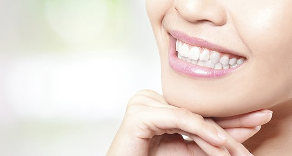 hanover dental care woman smiling