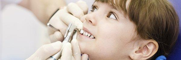 hanover dental care kid getting treated