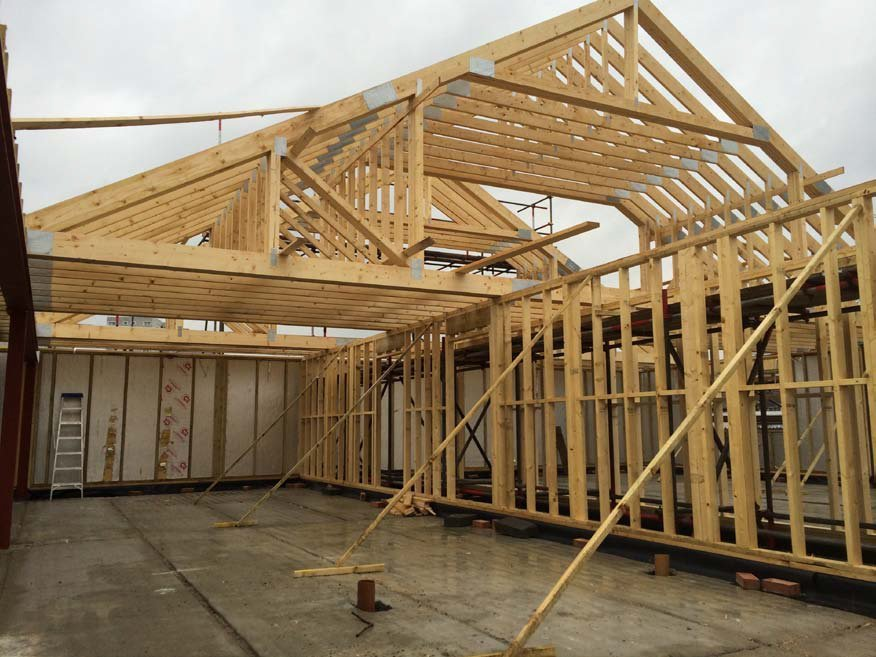 Frame Tech Buildings : Timber frame buildings constructed across essex