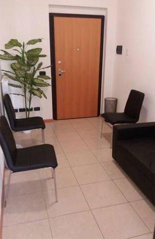 Panoramica dell sala d'attesa dello studio podologico