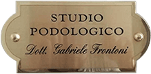 PODOLOGO FRONTONI DR. GABRIELE - LOGO