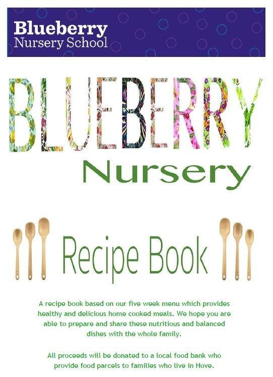 Nursery recipe book