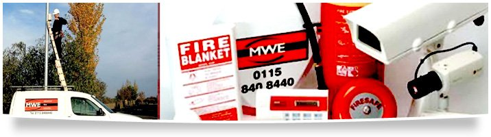 Fire - Nottingham - MWE Ltd - Alarm system and service