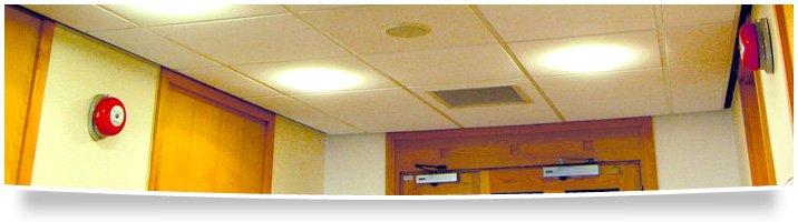 Fire - Nottingham - MWE Ltd - Alarm system hallway