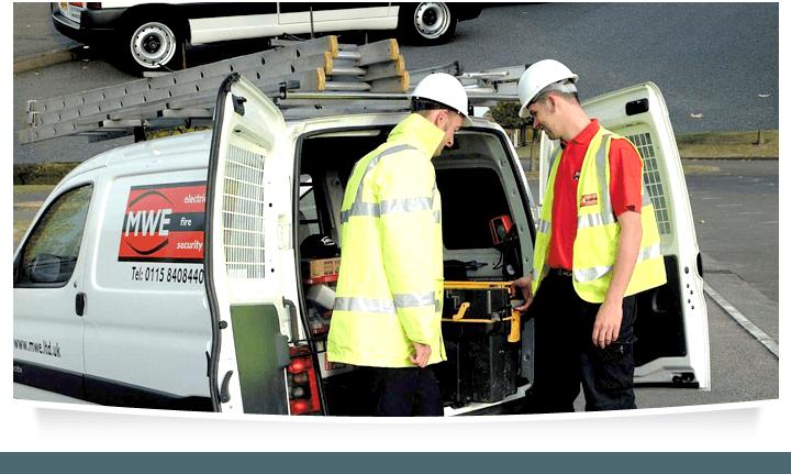 Electrical - Nottingham - MWE Ltd - Service van