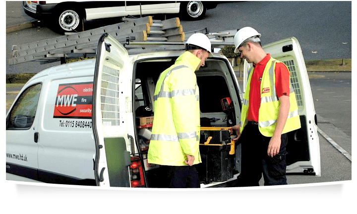 Electrical - Nottingham - MWE Ltd - Service van