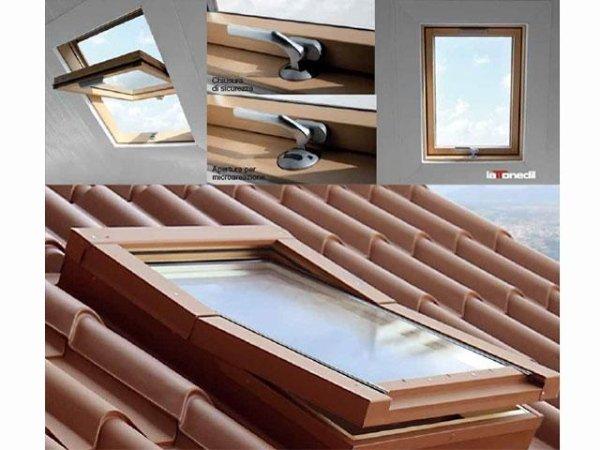 finestra per tetti a bilico
