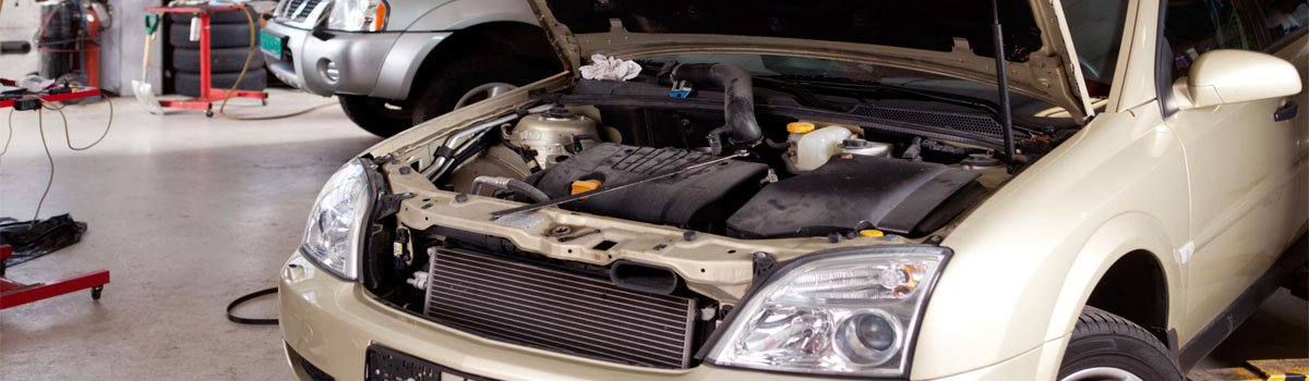 A car that needs servicing from our mechanics in Gawler