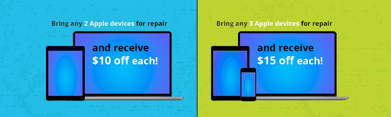 Apple Repair Promotion