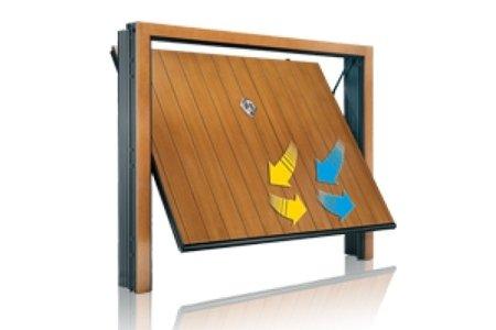 porte garage in legno