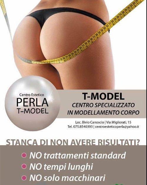 T-Model centro specializzato in modellamento corpo a Vivio di Canoscio