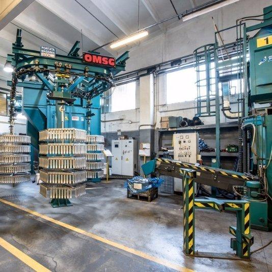 macchinari per la lavorazione dei metalli