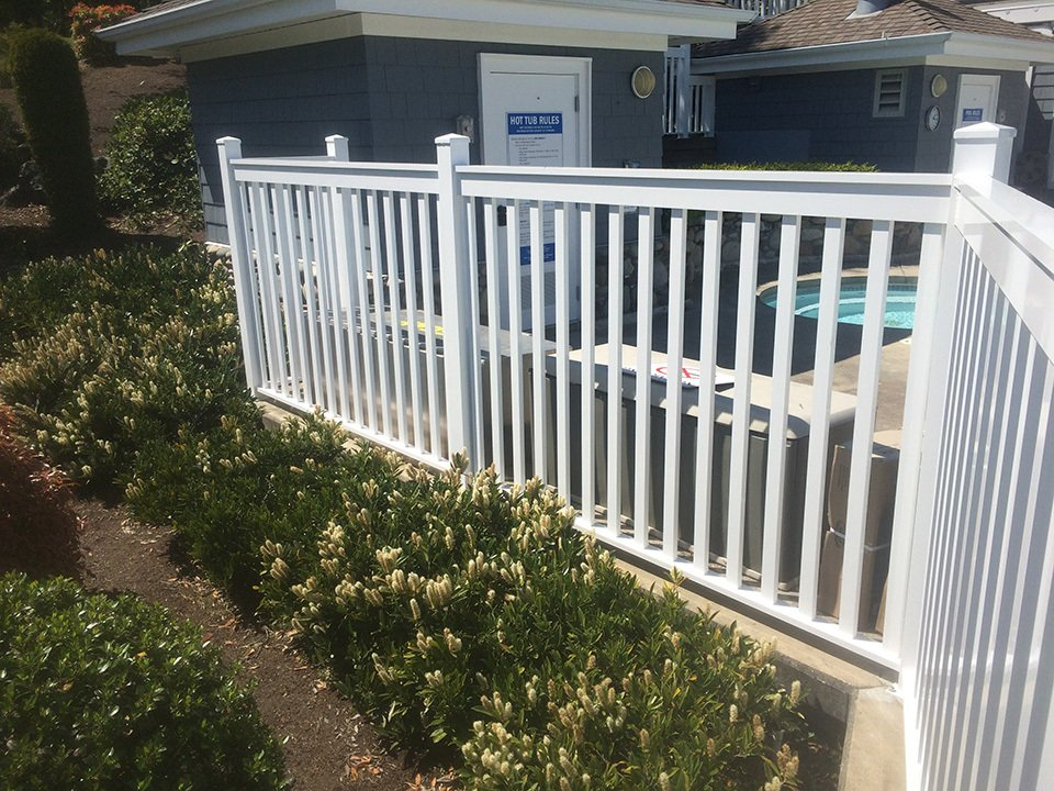 Custom Railings Nanaimo Bc Sunray Aluminum Railings