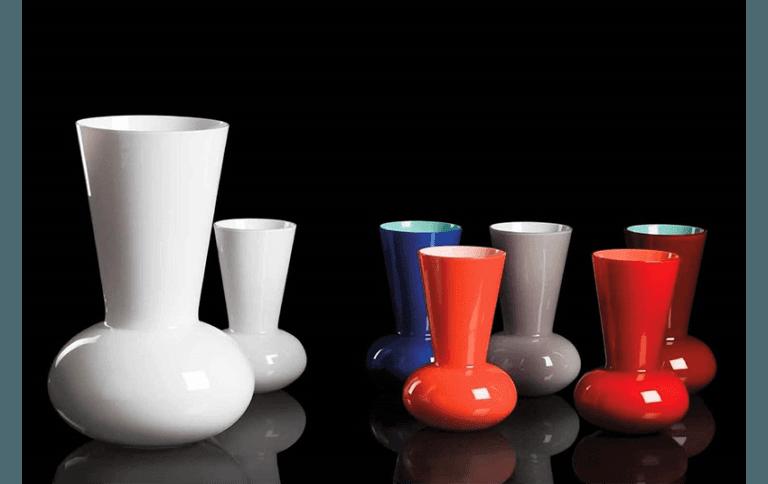 CARLO MORETTI vasi artistici in vetro di Murano