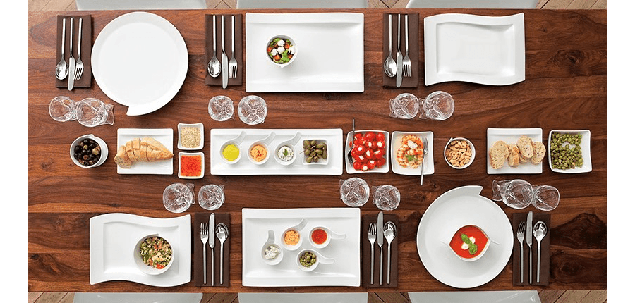 VILLEROY BOCH la tavola dal design di tendenza