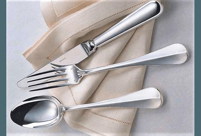 SAMBONET servizi posate in acciaio e argento