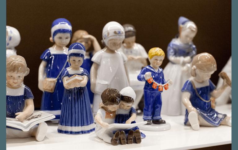 Royal Copenhagen porcellane