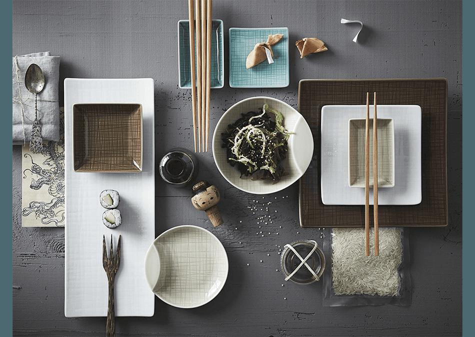 ROSENTHAL la tavola in stile orientale