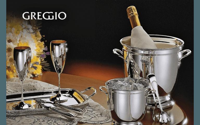GREGGIO Argenterie secchiello champagne accessori in argento