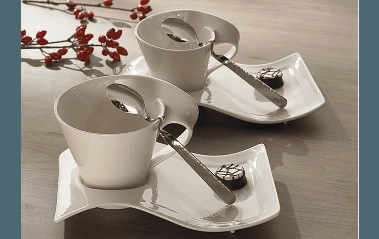 villeroy&boch servizio caffè cappuccino porcellana