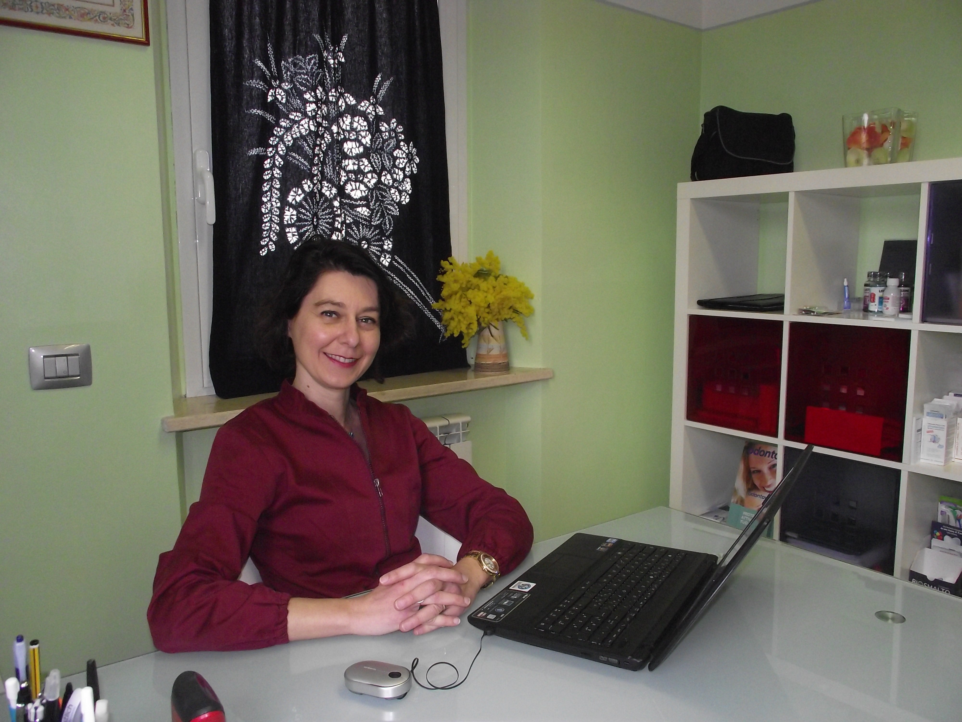 La Dott.ssa Stefania Marini