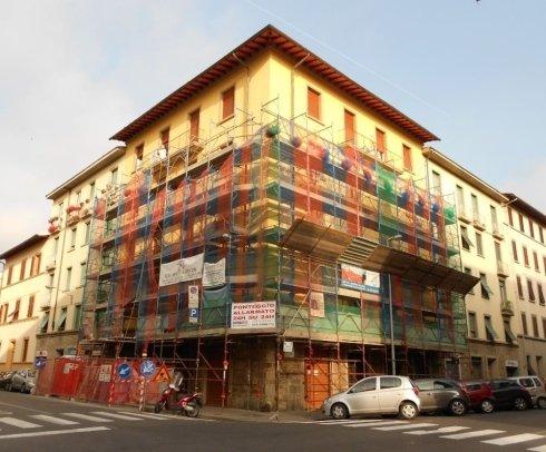 Realizzazione facciata condominio