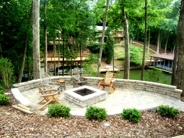 example of our landscape design work in Matthews, NC