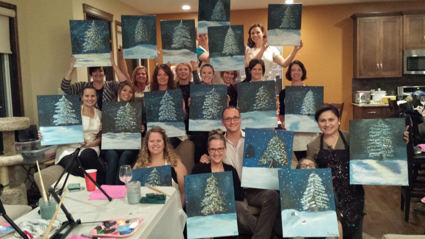 PRIVATE PAINT PARTY GALLERY