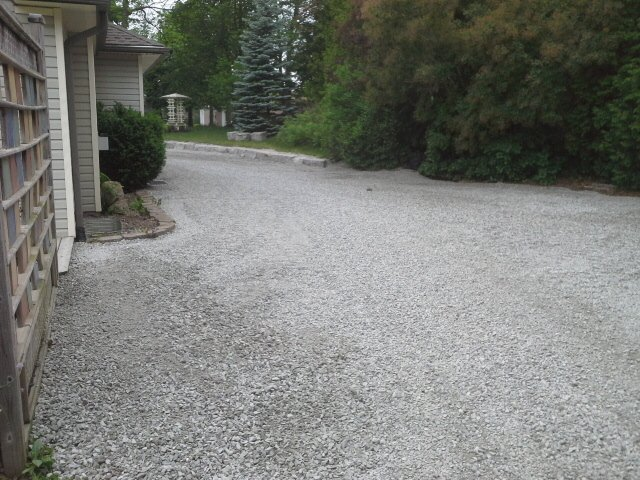 aggregate finish post residential installation