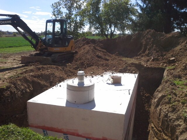 Cisterns repair and installation