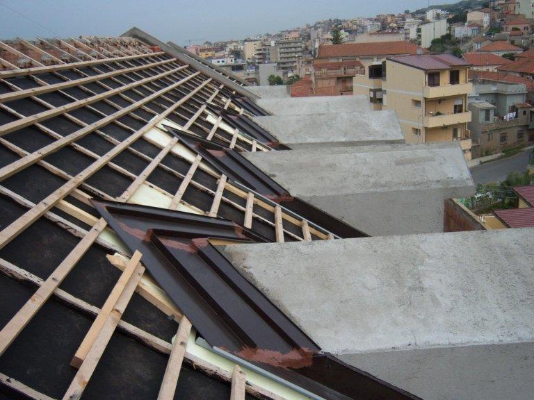Realizziamo coperture tetti